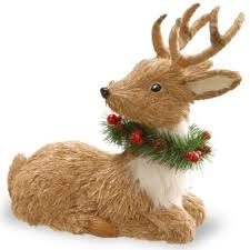 buy reindeer decorations from bed bath beyond