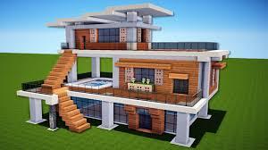 Minecraft House Map Minecraft Modern House U2013 House Plan 2017