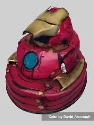 iron man cake by davidarsenault on deviantart