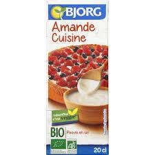 ustensile cuisine bio bjorg amande cuisine bio monoprix fr