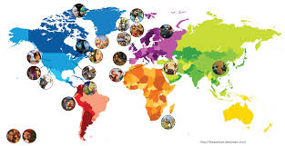 Africa On The Map by 100 Africa On The World Map G20germany Members And