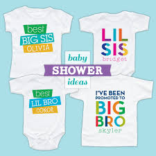 baby shower shirt ideas baby shower ideas personalized baby gifts for 2 3 or more