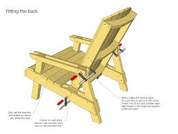 Free Diy Outdoor Furniture Plans by Lawn Chair Plans