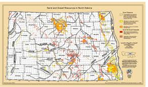 Map North Dakota Looking For North Dakota Placer Gold