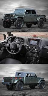 kaiser jeep lifted when kaiser m715 meets jeep wrangler unlimited you get this sleek