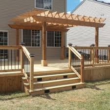 Backyard Deck Pictures by Best 25 Deck Pergola Ideas On Pinterest Deck With Pergola