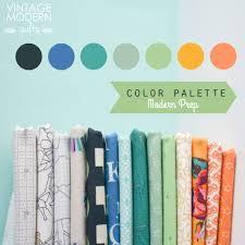 color palettes u2013 vintage modern quilts