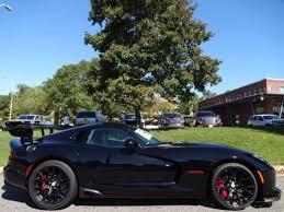 black dodge viper for sale 2016 dodge viper acr venom black acr priced at invoice for sale