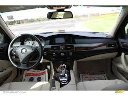 bmw 528 xi 2008 bmw 5 series 528xi sedan beige dakota leather dashboard