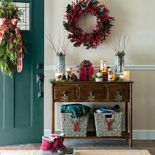 entry way decor christmas decor for home entries
