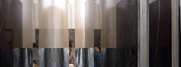 Petra Blaisse Curtains Solidnature Combines Stone With Stage Velvets By Showtex