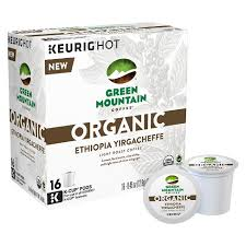 light roast k cups green mountain organic ethiopian yirgacheffe light roast coffee k