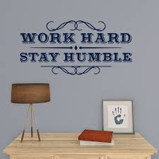 work hard stay humble wall decal shop fathead for wall art decor work hard stay humble fathead wall decal