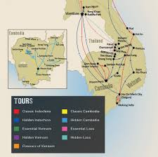 Spirit Route Map by Holidays U0026 Tours To Cambodia Travel The Unknown