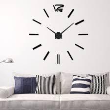 aliexpress com buy arrival 3d home decor quartz diy wall clock