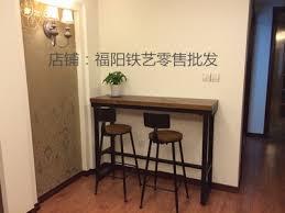 wall tables for living room wall bar table elegant wrought iron long against the tables inside