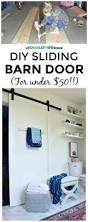 How To Build A Sliding Barn Door Diy Sliding Barn Door At Charlotte U0027s House