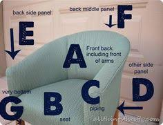 Slipcover For Barrel Chair How To Recover An Upholstered Tub Chair Tub Chair Tubs And
