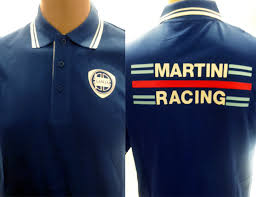 martini racing shirt polo chico lancia martini humphry
