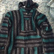 62 off tops black and green drug rug stoner sweater from