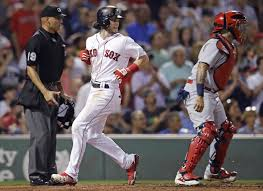 bill ballou andrew benintendi rare rookie of year candidate for