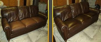 Leather Sofa Gone Sticky The Leather Doctor Leather Sofa And Car Seat Crease Repair