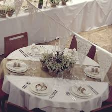 wedding runners furniture brown burlap and white lace table runner on