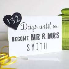 wedding countdown for wedding countdown chalkboard by the handcrafted company