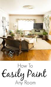 paint your home how to easily paint walls in your home designed decor