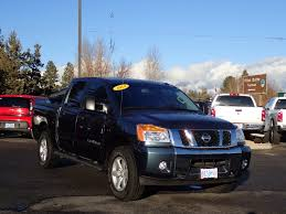 nissan truck 2014 used 2014 nissan titan for sale redmond or