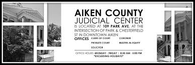 aiken county government