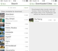 Tripadvisor Map Tripadvisor U0027s App Gets An Offline Feature