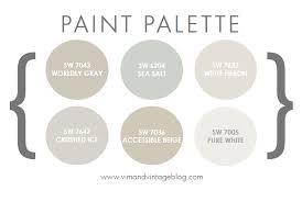 paint colors vim u0026 vintage design life style