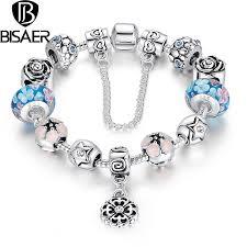 silver european bracelet images Bracelets bangles european silver color glass beads bracelet jpg