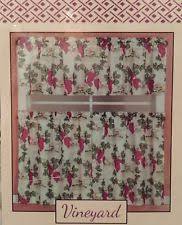 Grape Kitchen Curtains Tuscan Curtains Drapes U0026 Valances Ebay