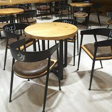 American Furniture Dining Tables Furniture Retro Old Wrought Iron Wood Dining Tables And Chairs