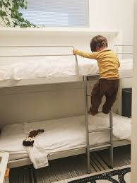 Bunk Bed With Crib On Bottom by Wall Bunk Beds The First Few Months U2014 600sqftandababy