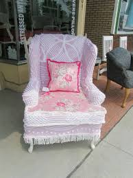 shabby chic wing chair slipcovers flapjack design hastac 2011