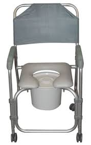 Shower Chairs With Wheels Drive 11114kd 1 Padded Shower Chair Commode With Casters