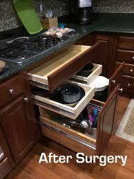Kitchen Cabinets With Drawers That Roll Out by Painting Kitchen Cabinets Remodeling Existing Kitchens And