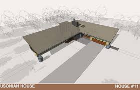 Usonian House Plans For Sale House 11 U2013 The Usonian House Jody Brown Architecture Pllc