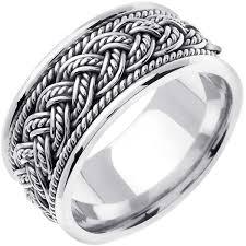wedding ring depot 14k white gold braid band 10mm 3001724 shop at wedding