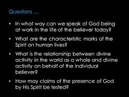 the spirit of god 1 the spirit of 2 the spirit of holiness