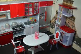 Dollhouse Kitchen Furniture Amazon Com Barbie Sized Dollhouse Furniture Modern Comfort