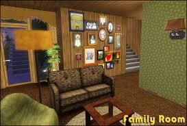 mod the sims retro realty u002770s modern family home