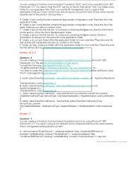 microsoft ts ms net framework 3 5 windows communication