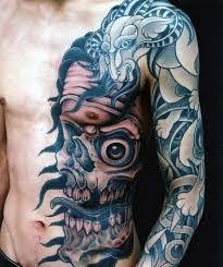 side skull chest golfian com