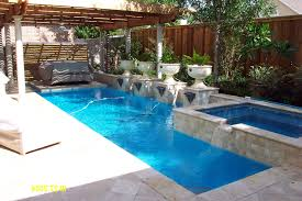 inspiring outdoor swimming pool designs in house with little