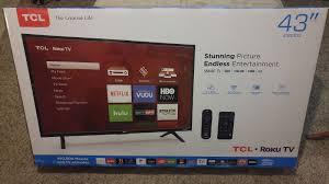tcl 43 inch full hd 1080p 43s305 roku smart led tv 2017 model