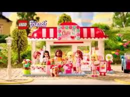 toysrus présente lego friends le café 3061 youtube
